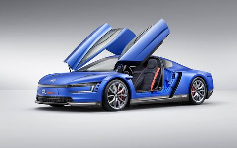 The vehicle's aerodynamics are one key reason the car performs so well.