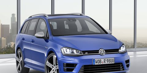 The 296-hp Golf R Variant is slated for European sales for now.