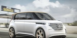 The electric drivetrain and platform of the BUDD-e will see production, but whether it will look more like a Microbus is uncertain.
