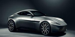 James Bond's Aston Martin DB10