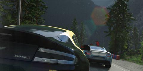 Aston Martin's in DriveClub.