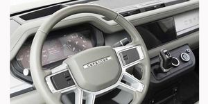 The upcoming Land Rover Defender will have a more modern and luxurious interior than the outgoing model.