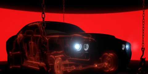 More than 200 pounds have been cut from the 2018 Dodge Challenger SRT Demon.