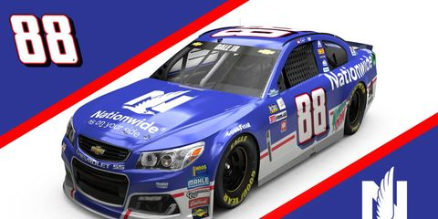 Dale Earnhardt Jr. will throw it back to 1998-1999 with his Southern 500 paint scheme.
