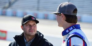 David Gilliland maintains his stock car team was '100 percent' in the right when it came to NASCAR penalties handed down on Wednesday night.