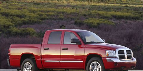 The Dodge Dakota was produced through the 2011 model year, when larger offerings won out.