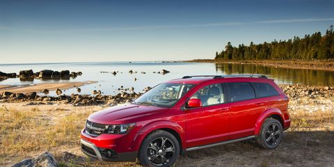 The customer preferred package adds a bunch of fantastic features to the 2014 Dodge Journey Crossroad.