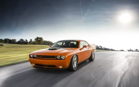 Sure the 2014 Dodge Challenger R/T Shaker doesn't have the horsepower of the Challenger Hellcat but it still has more than enough for when you want it.