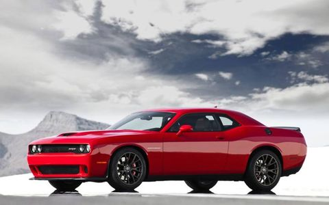 The 2015 Dodge Challenger SRT Hellcat was a real show stopper at the Woodward Dream Cruise.