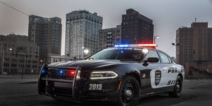 Dodge has updated its 2015 Charger Pursuit car to match the styling of the recently refreshed Charger.