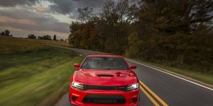 The Hellcat engine produces 707 hp.