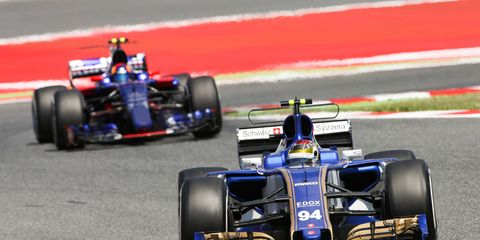 Sauber's Pascal Wehrlein finished eighth in Spain to score points for just the second time in 24 career Formula 1 races.