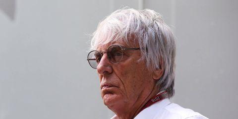 Bernie Ecclestone, 86, is not sold on Liberty Media's idea to live-stream F1 content.