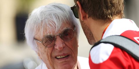 Bernie Ecclestone is said to be considering mounting a challenge to Formula 1, possibly in the form of a rival series.