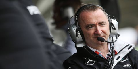 Paddy Lowe is the current technical director at Mercedes but could be traded to Williams as part of a Valtteri Bottas deal.