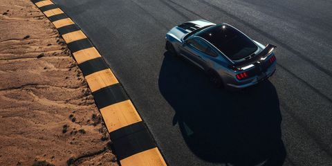 Meet the latest Ford Mustang Shelby GT500 -- the 700-plus hp pony car.