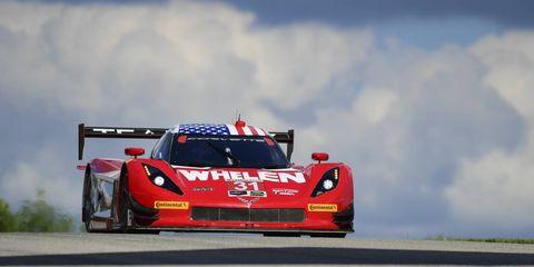 Dane Cameron and Eric Curran won Sunday's IMSA WeatherTech SportsCar Championship Prototype race at Road America.