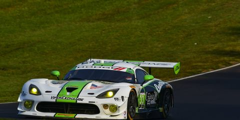 Jeroen Bleekemolen, who drives the No. 33 ViperExchange.com Dodge Viper GT3-R, will race next weekend at Circuit of the Americas.