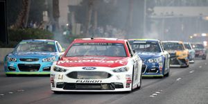 NASCAR's 'After the Lap' ceremony harkens images of a Cup Series street course race.