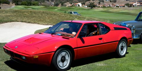 BMW built just 453 examples of the M1. There are 452 not shown in this picture.