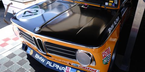 BMW just wrapped up a restoration of this 1970 2002ti, breathed upon by Alpina.