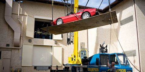 In 1988, when the series ended, all the Ferraris used for the show went to auction.