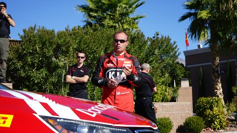 Nic Jonsson has raced with Kia since the beginning, or 2010.