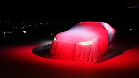 Audi unveiled the Prologue concept the night before the LA Auto Show, at the Tanager House overlooking the Sunset Strip.