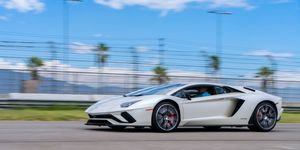 The replacement for the standard Aventador looks the business and means it too.
