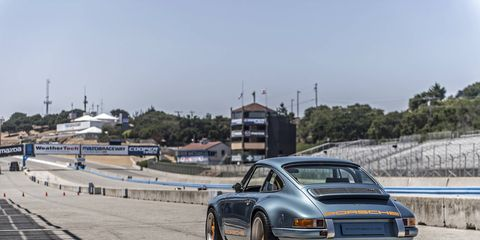 Singer has made it's name by making classic Porsche 911's better than they ever were.
