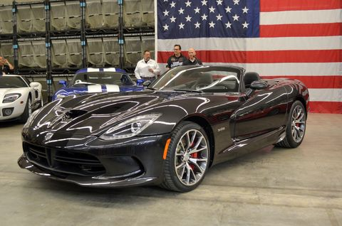 Prefix unveiled its Viper Medusa to Viper owners and Chrysler employees.