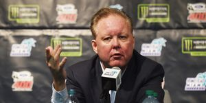 Brian France tackled some of the hot-button NASCAR issues during a radio show appearance on Wednesday afternoon.