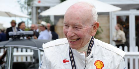 Former F1 and motorcycle champion John Surtees, shown here at the 2016 Goodwood Festival of Speed, died on Friday.