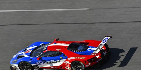 Scott Dixon was fastest in GTLM practice on Saturday during the Roar Before the 24 at Daytona.
