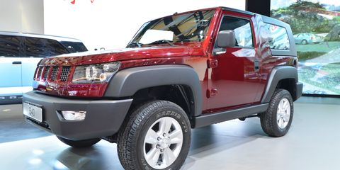 The Beijing Auto BJ40 has been in development for the past five years, and is expected to debut this fall with a turbocharged Saab engine underhood.