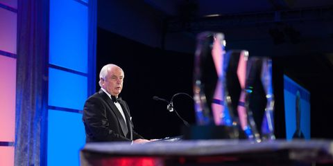 Roger Penske was inducted into the Automotive Hall of Fame.