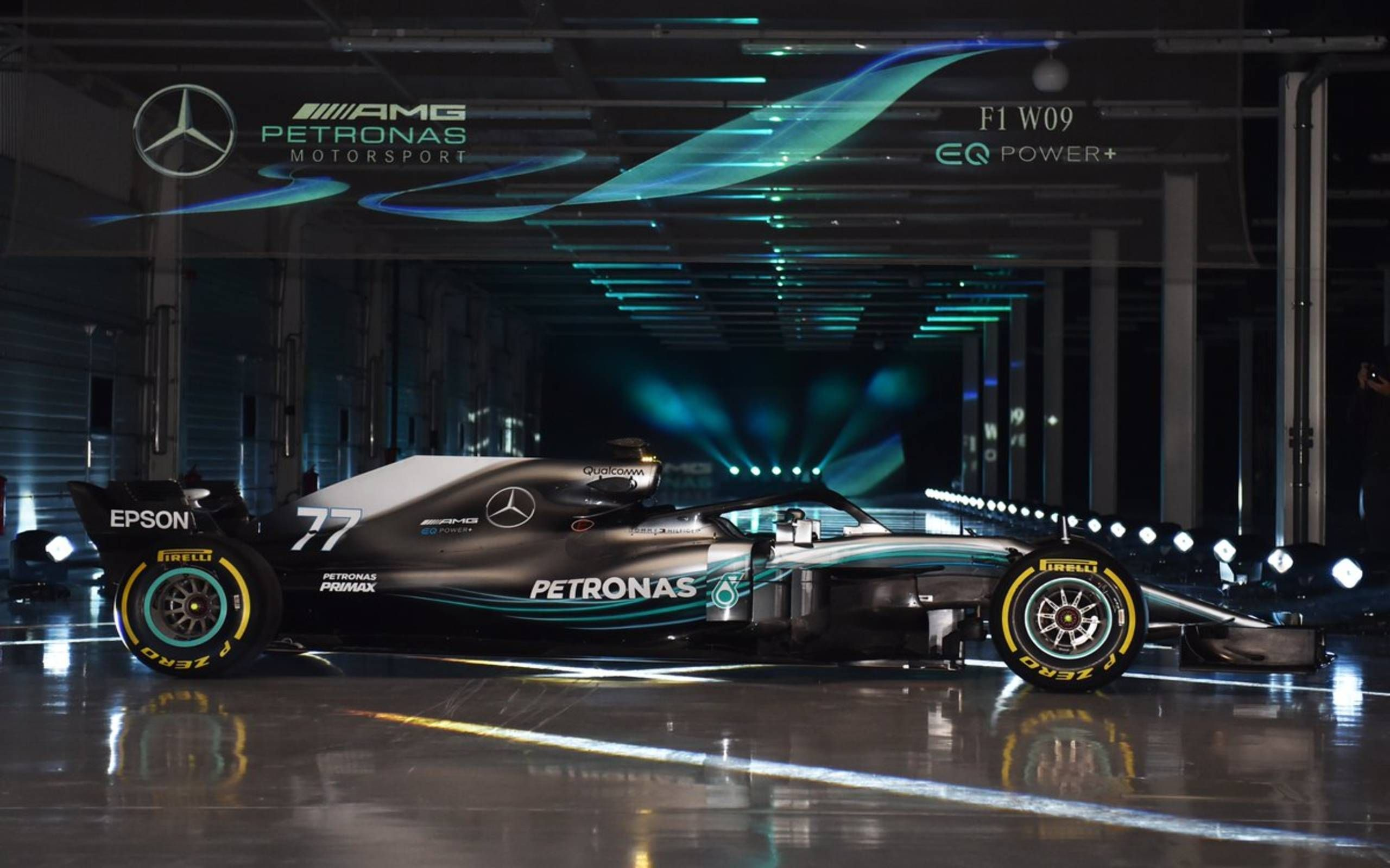 Mercedes Launches New F1 Entry But The Team Principal Wants To Take A Saw To The Halo