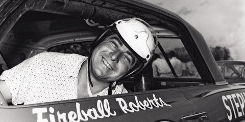 Roberts won the inaugural Firecracker 250 on July 4, 1959 at Daytona International Speedway.