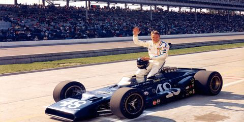 Dan Gurney competed in the Indy 500 nine times, but was never able to win it.