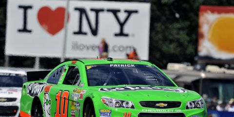 Danica Patrick at last year's Sprint Cup at Watkins Glen International. The Cup series and Nationwide are racing at The Glen, while the Camping World Trucks Series will be off this weekend. Check out this weekend's TV schedule.