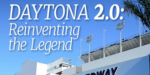 The new-look Daytona International Speedway will open its doors to fans this week for the Rolex 24 at Daytona.