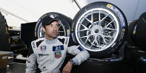 Patrick Dempsey, shown here last year at Le Mans, is divorcing his wife of 15 years.