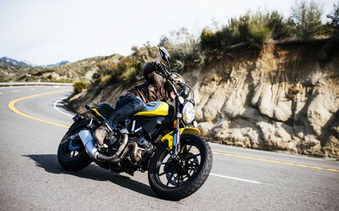 Scrambler at speed