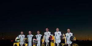 Corvette Racing has retained its full championship-winning lineup for the 2019 IMSA WeatherTech SportsCar Championship.