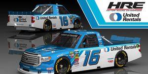 Austin Hill will pilot the No. 16 Hattori Racing Enterprises Toyota Tundra in the NASCAR Truck Series in 2019.