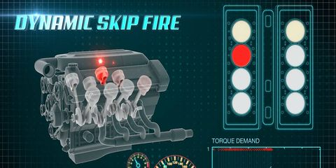 Tula Technology's Dynamic Skip Fire (DSF) technology saves fuel in multi-cylinder engines