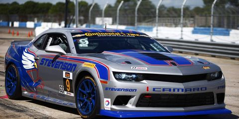 Matt Bell took the pole for the Continental Tire SportsCar Challenge race in Sebring.
