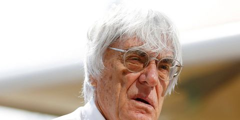 Bernie Ecclestone could lose some of his power in Formula One in a reorganization at the top of the F1 board.