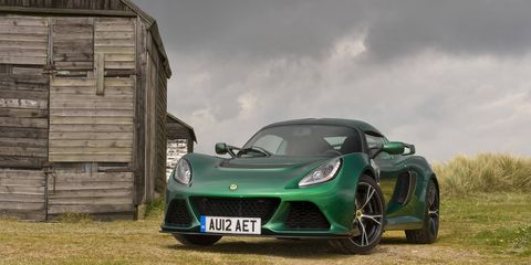 The Exige S will be offered with a six-speed automatic transmission in early 2015.