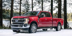 A new 7.3-liter gasoline V8 will join the engine lineup for the 2020 model year, alongside two other existing engines including a 6.7-liter Power Stroke diesel and a 6.2-liter gas V8 that will continue on as the base engine.